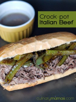 Italian Beef Sandwiches Crock Pot Recipe