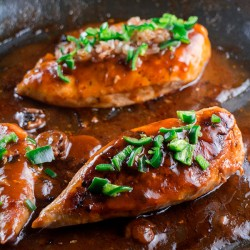Jalapeno Peppered Chicken Marsala