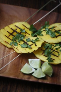 Mango Skewers with Lime Recipe