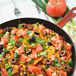 Mexican Pizza Skillet