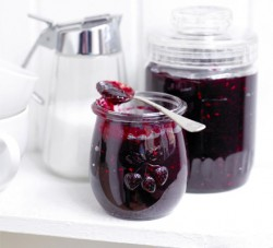 Microwave Summer Fruits Jam with Two Ingredients