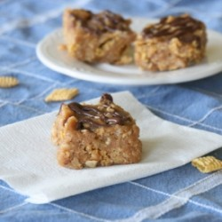 PB Cereal Crack Bars