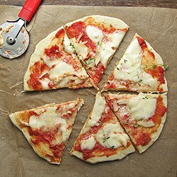 Pizza Made Without Pizza Oven