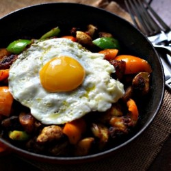 Potatoes and Pepper Breakfast Hash