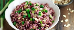 Red Cabbage and Quinoa Salad