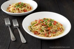 Red Pepper Clam Sauce Pasta Recipe