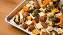 Roasted Root Vegetables and Brussels Sprouts Recipe
