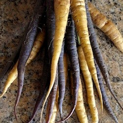 Roasted Spiced Rainbow Carrots