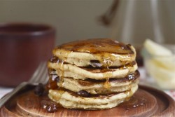 Rye Chocolate Orange Pancakes