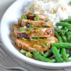Seared Teriyaki Pork Tenderloin