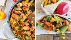 Southwestern Chicken Pita Pockets