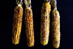 2 spicy hot summer grilled corns