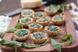 Spinach Arugula Tarts Recipe