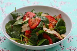 Strawberry and Black Pepper Salad