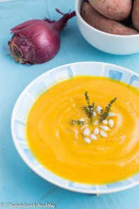 Sweet Potato Butternut Squash Soup