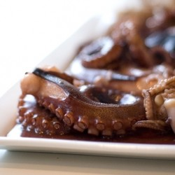 Teriyaki Octopus