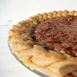 Toasted Pecan Pie with a Braided Crust