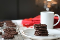 Triple Chocolate Mint Cookie