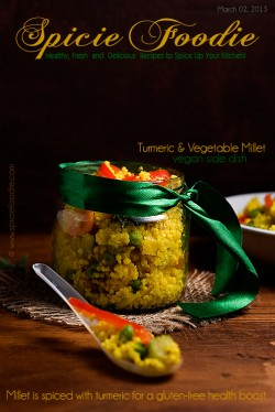 Turmeric and Vegetable Millet