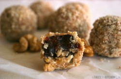 Walnut Dates Truffles