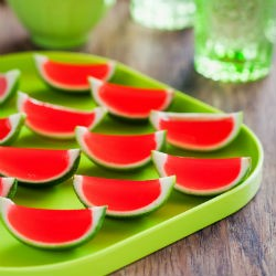 Watermelon Lime Jello Shots Recipe