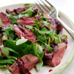 Wood Pigeon Salad