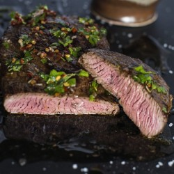 Argentinian Steak with Chimichurri
