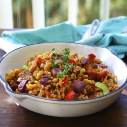 Bacon and Shrimp Jambalaya Recipe