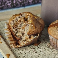 Banana-Nut Muffins with Biscoff