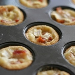 Brie and Bacon Tartlets