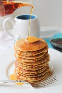Brown Rice Flour Pancakes – GF