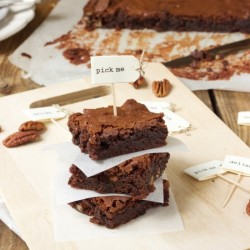 Brownies with Pecans