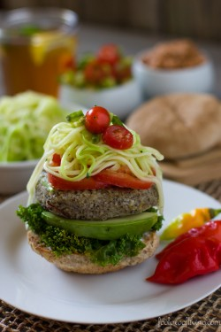 Bulgur and Lentil Vegan Burger Recipe