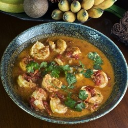 Burmese Shrimp Curry