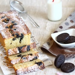 Cake with Oreo Cookies