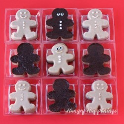 Caramel Custard Gingerbread Men