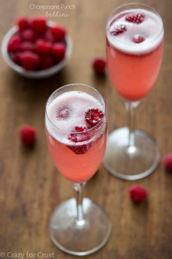 Champagne Punch Bellini