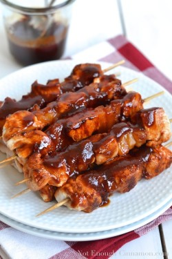 Chicken Pineapple Skewers
