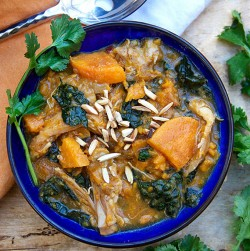 Chicken Stew with Sweet Potatoes