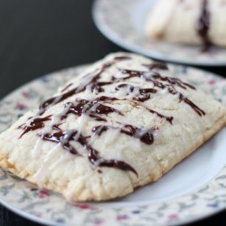 Chocolate Ganache Toaster Pastries