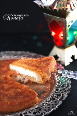 Classic Cream-Filled Konafa