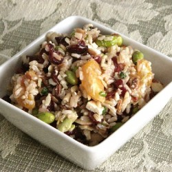 Clementine Brown Rice Salad
