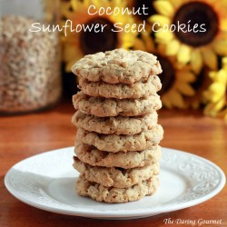 Coconut Sunflower Seed Cookies Recipe
