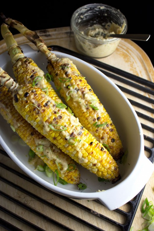 Corn On The Cob With Miso Butter