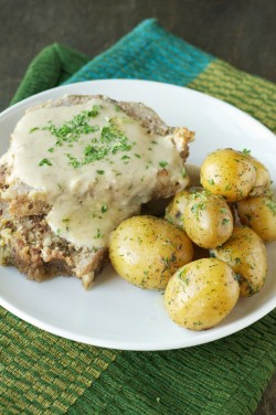 Crockpot Creamy Meatloaf