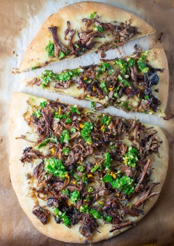 Decadent Short Rib Pizza