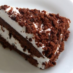 Devils Food White Out Cake