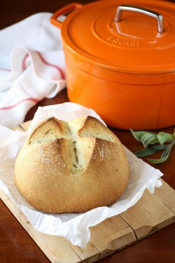 Dutch Oven Rustic Herb Loaf Recipe