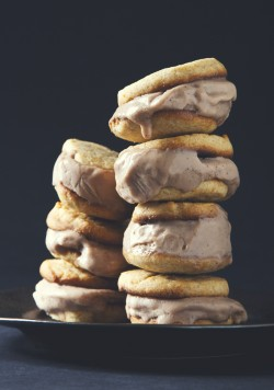 Earl grey ice cream sandwiches