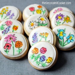 Flower Cookies for Mom